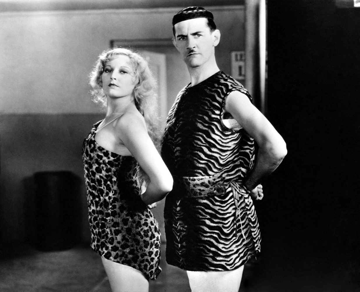 crazy feet 1929 thelma todd en charley chase