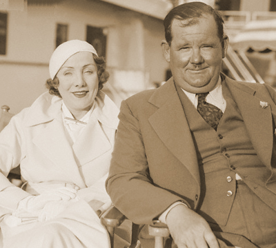 oliver hardy - myrtle lee reeves