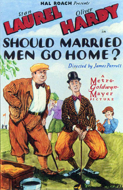 poster should married men go home
