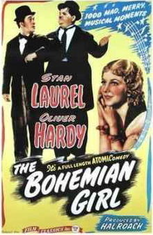 poster the bohemian girl